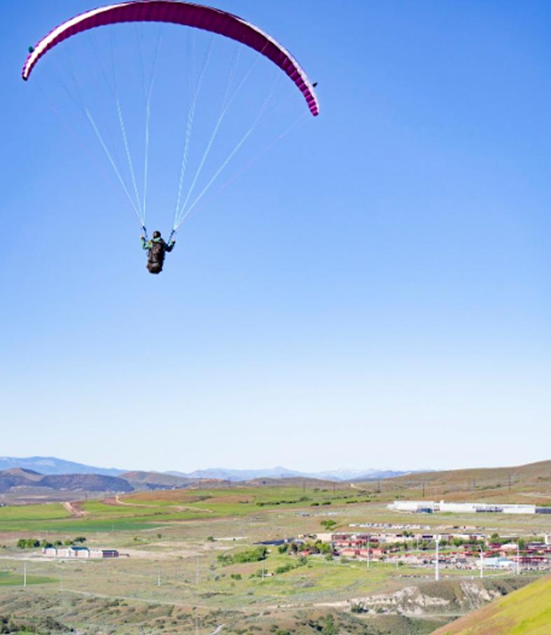 Paragliding Utah